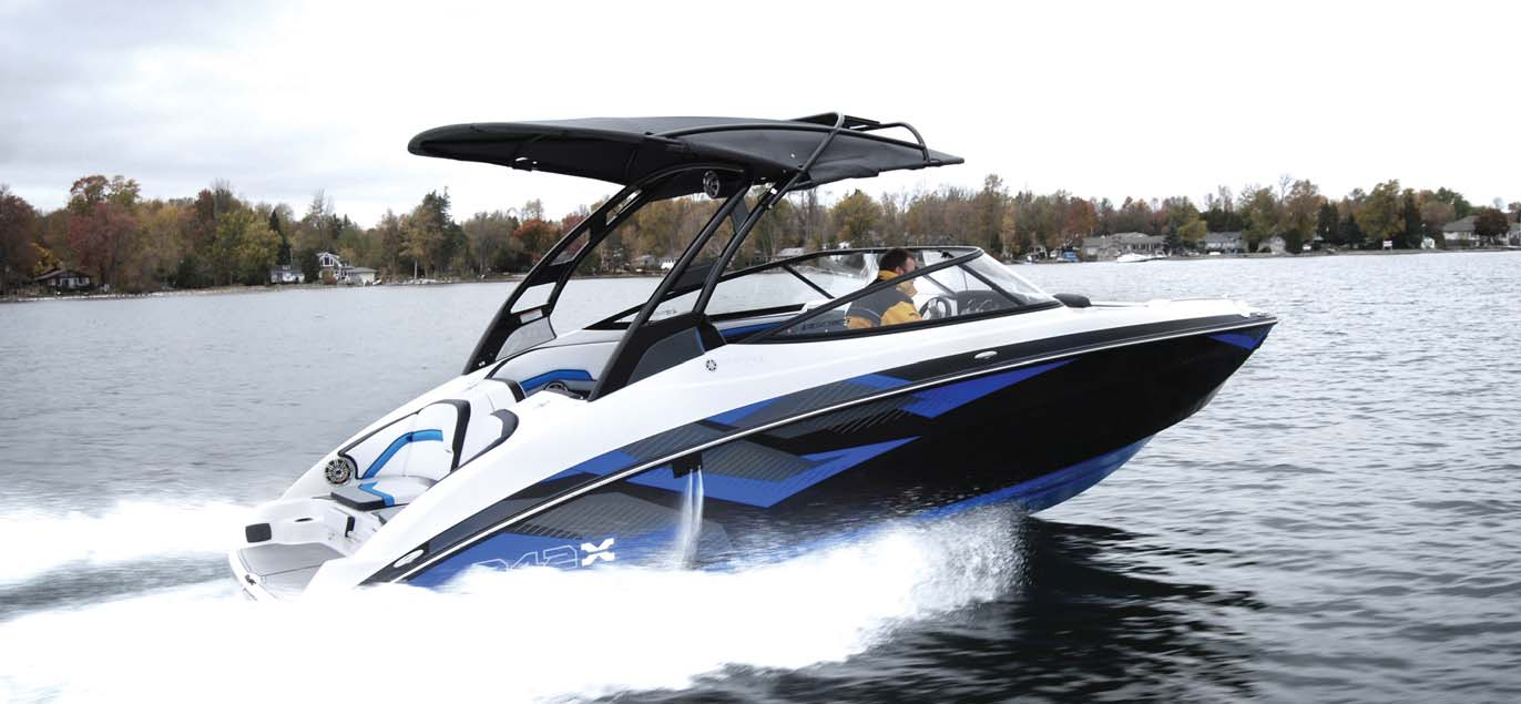 yamaha sport boat 242x e series power boating canada