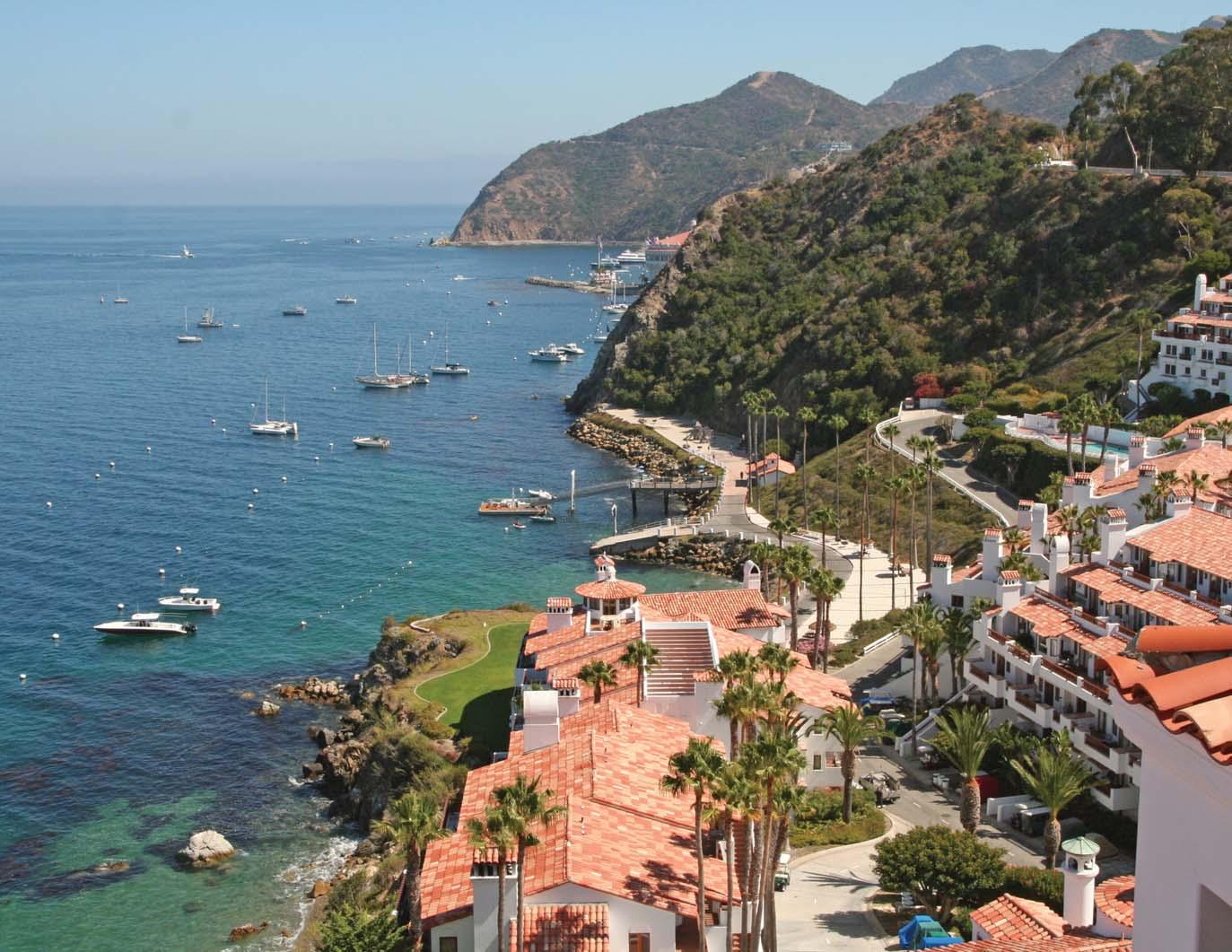 visit to catalina island