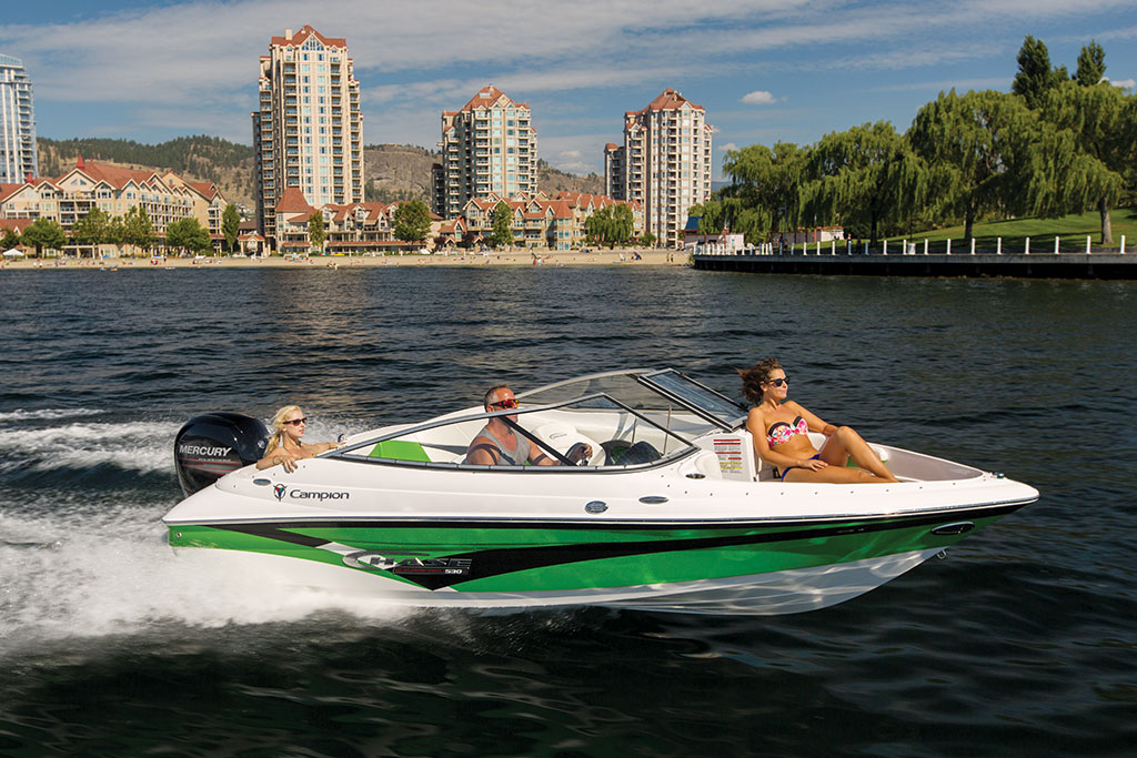 The Campion Chase 530OB Bow Rider